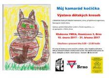 """Výstava dětský kreseb """"Můj kamarád kočička"""""""