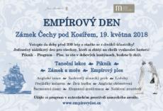 Předprodej vstupenek na Empírový den 2018 byl zahájen!