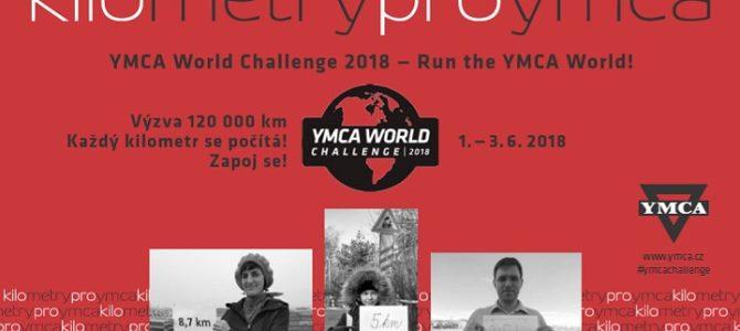 World Challenge YMCA 2018 o víkendu 1.-3. června 2018